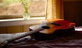 再次相约11月8日,用吉他音乐谱一封情书
