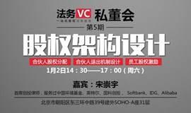 法务VC第5期私董会:合伙人股权分配、退出机制设计与股权激励