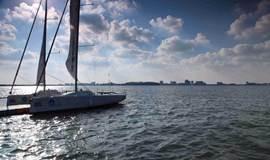 上海滴水湖帆船体验,感受帆船魅力