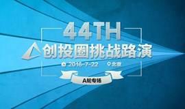 创投圈第44期挑战路演 A轮专场