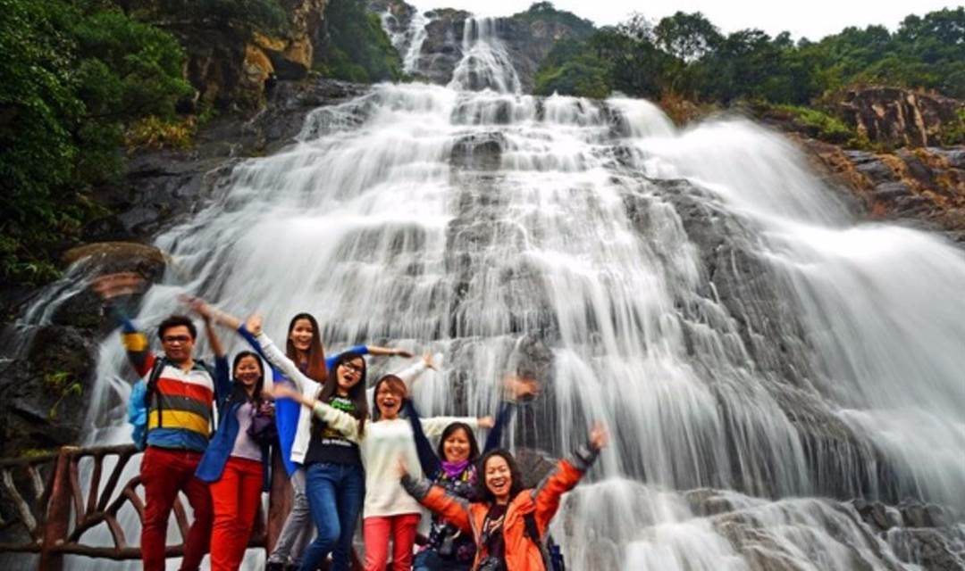 【国庆】白水寨:登天梯,观瀑布,亲水休闲一日活动