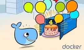 Docker 4周年生日会