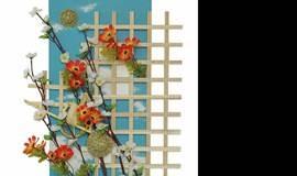 女性午间幸福课堂之手工创意课程—花艺装饰画