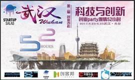 武汉第二届创业沙拉:科技与创新创业party激情52小时