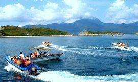 5月26-27日大辣甲岛坐大飞、露营、烧烤晚会、日出日落体验之旅