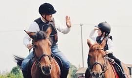 体验马背上的乐趣——亲子活动