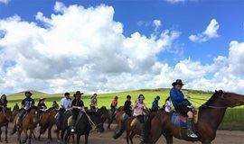 【福音户外】周末 坝上草原 骑马 送烤全羊,民族歌舞、篝火狂欢