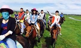 【福音户外】周末 坝上草原 骑马 送烤全羊,赏金秋草原 篝火狂欢