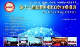 第十三届信用中国年度电视盛典暨2017中国企业诚信与竞争力论坛