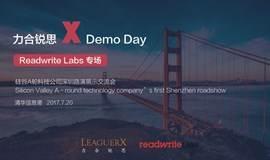 力合锐思 X Demo Day|北美领先科技媒体Readwrite Labs专场 硅谷A轮优质项目来深圳啦!