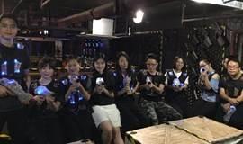 7.7迷波隆室内CS大战,跑来跑去即使打不中人也开心!