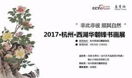 非此非彼 顺其自然——2017·杭州·西湖华朝锋书画展