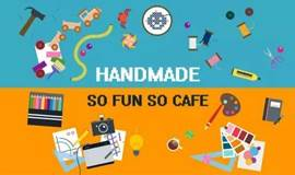 星空与咖啡之下,捏着粘土、画画海娜纹身——SO CAFE 手工DIY!