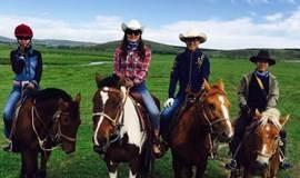 (福音户外)周末 坝上草原策马奔腾 体验马背生活,烤全羊篝火狂欢!