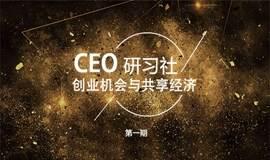 CEO研习社 创业机会与共享经济