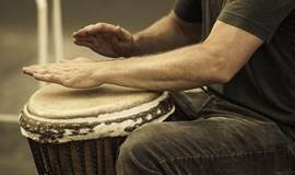 非洲传统音乐之魂——非洲鼓一对一体验课程