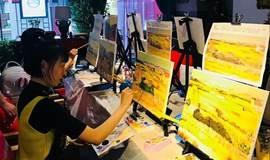【国庆中秋好去处】北京唐醋画吧-全民零基础画画(油画)体验