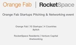 Orange Fab X RocketSpace Inc. China | 新创路演&交流活动