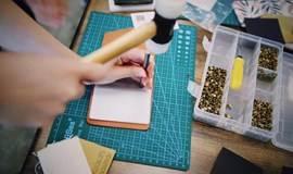 手工皮具课堂:雾蜡复古钥匙包 & 活页卡包