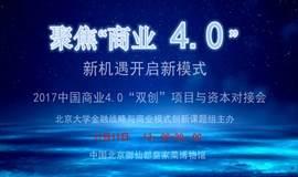 """2017中国商业4.0""""双创""""项目与资本峰会"""