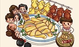 美食分享探店之旅 | FOOD WALK爱情美食大作战