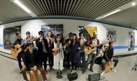 圣诞节 我们一起地铁里音乐快闪吧!
