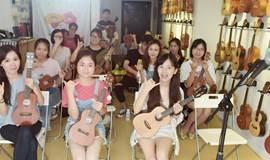 周日尤克里里ukulele免费体验课 一小时学会自弹自唱 文艺清新萌妹必备技能get
