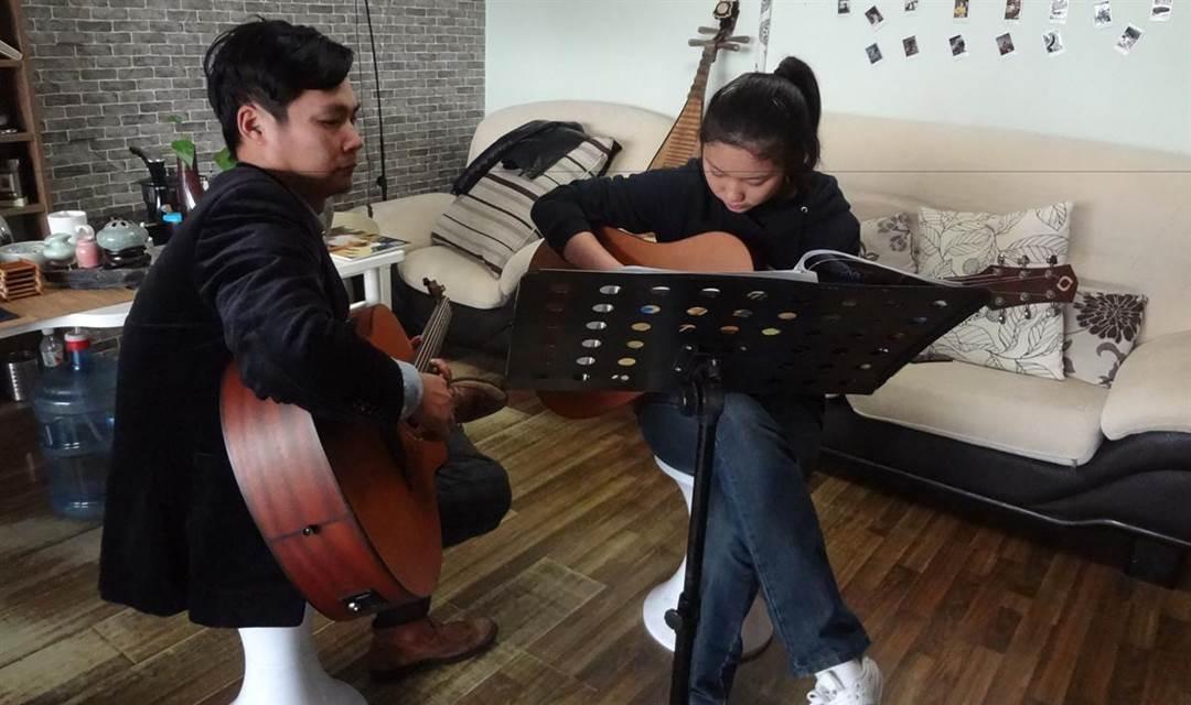 每周日下午两点  吉他入门体验课