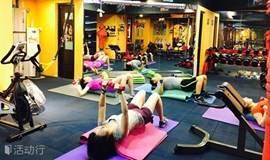 营养·美食·运动俱乐部--12月每周日:健身私教指导体能训练