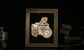 【志趣社】创意光影相框灯:细画精雕,DIY暗夜里的明媚 11.11(周六)