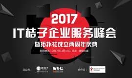 2017企业服务峰会暨拓扑社成立两周年庆典