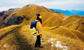 【约见·武功山】2018元旦武功山跨年特别活动 轻装全程徒步路线