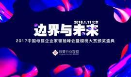 边界与未来·2017中国母婴企业家领袖峰会暨樱桃大赏颁奖盛典