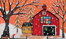 【跨年啦】零基础油画体验+新年配饰,给你最特别的新年礼物