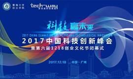科技赢未来:2017中国科技创新峰会 暨 第六届1218创业文化节闭幕式