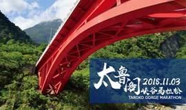 2018太鲁阁峡谷马拉松Taroko Gorge Marathon