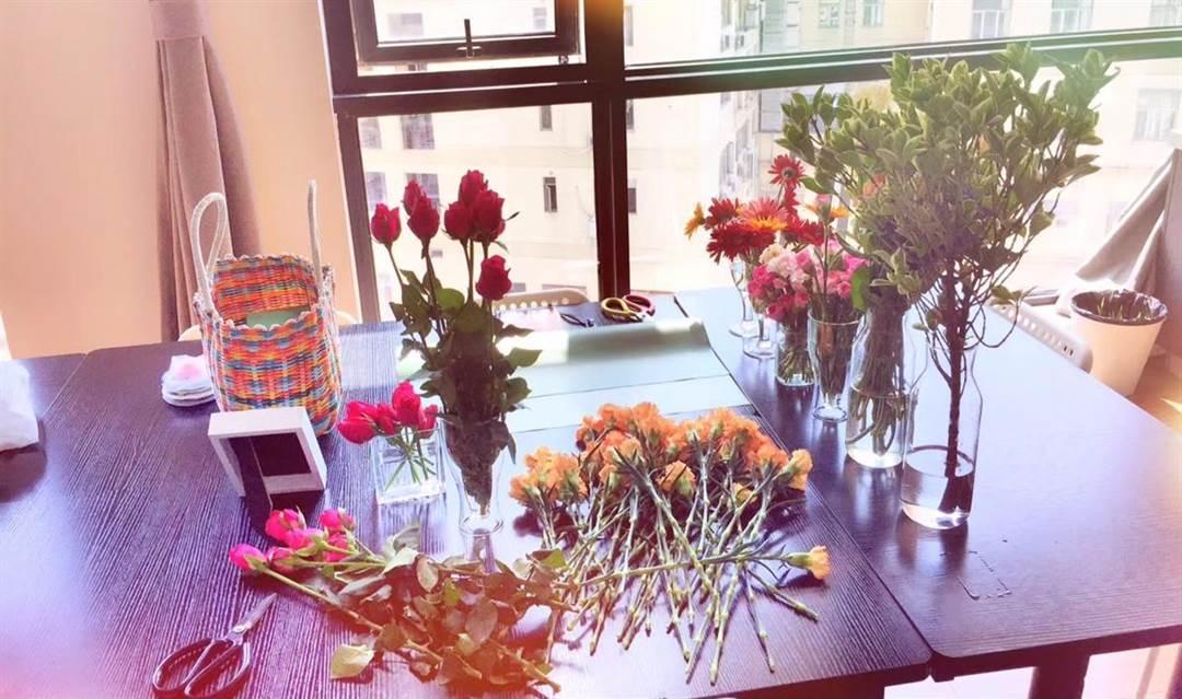 你像花儿一样美——浪漫花盒制作体验