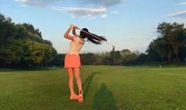 零基础高尔夫之旅!慢下来,去生活!