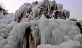 【蘑菇】【龙居冰瀑】冬日仙境 太行山脉的璀璨明珠 带你去看漫山遍野的冰挂