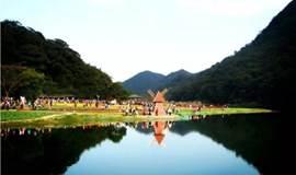 【行摄●赏枫叶】01月01日(周一) 行摄石门公园 漫步天池七彩花海 秋之红叶摄影