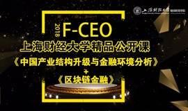上海财经大学精品公开课:中国产业结构升级与金融环境分析+区块链金融