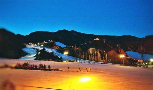 【周三怀北夜滑317期】怀北滑雪场的狂欢之夜,深夜雪场浪漫之旅!