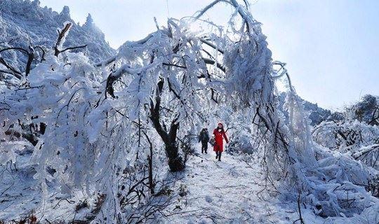 下雪了(确定出发)2018.1.26晚-28:登南岳衡山,赏雾凇,祝融峰祈福(汽车往返)