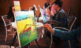 《十里桃花》花一个午后时光赴一场说文艺就文艺的油画之约