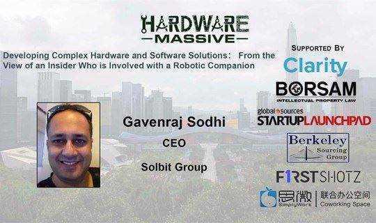 【Hardware Massive】机器人伴侣老司机带你看--开发复杂的硬件和软件解决方案
