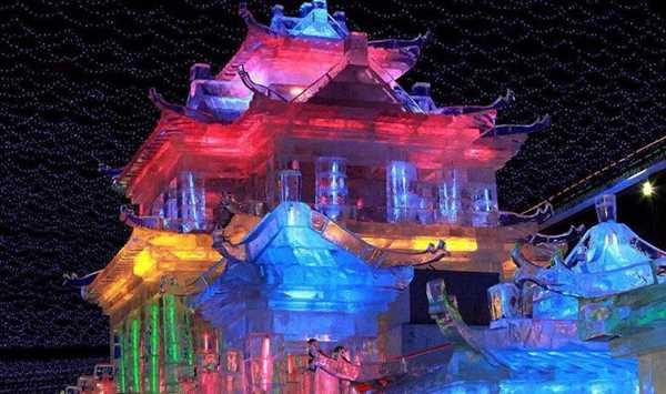 【春节初二--初六天天发】龙庆峡 看冰灯,赏冰瀑,访古城,品豆腐宴 休闲1日游