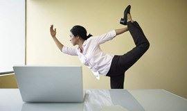 【上班族福利】用瑜伽解除疲劳,1小时让你无惧久坐!