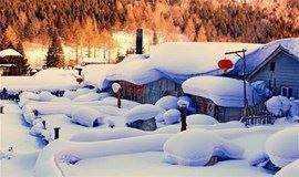 【东北】雪乡+老里克湖徒步—诗画长白山—吉林赏雾凇—滑雪—冰城哈尔滨8日行