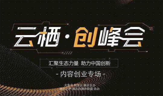 阿里文娱大鱼号内容创业高峰论坛(武汉站)