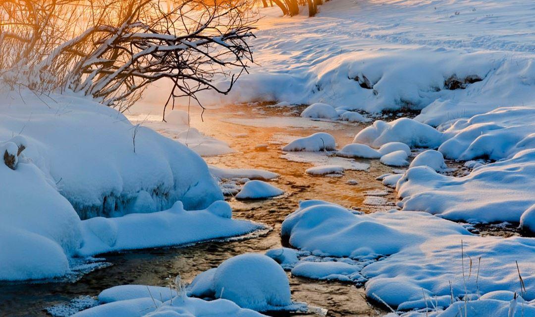 【野蘑菇】每周五发团 走进水墨画王国-乌兰布统草原皑皑白雪摄影自由越野行